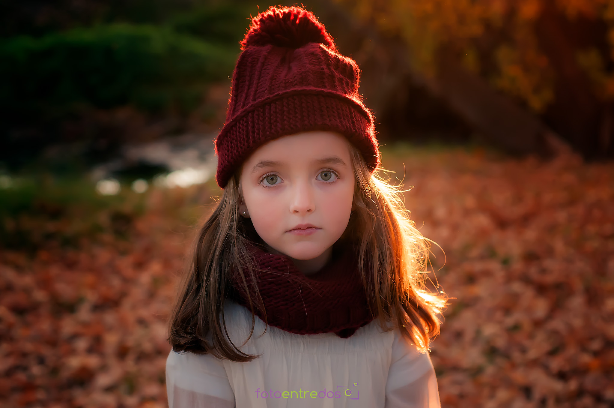 Ángela en otoño