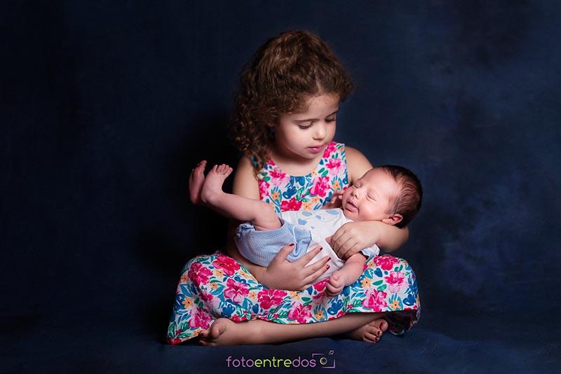 En brazos de mi hermana